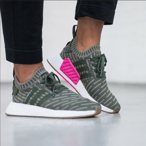 adidas NMD R2 PK W shoes white pink